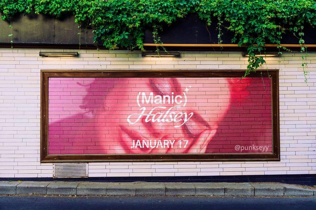✦ 1 YEAR OF MANIC ✦ the billboard ✦  #manicanniversary #manicthealbum