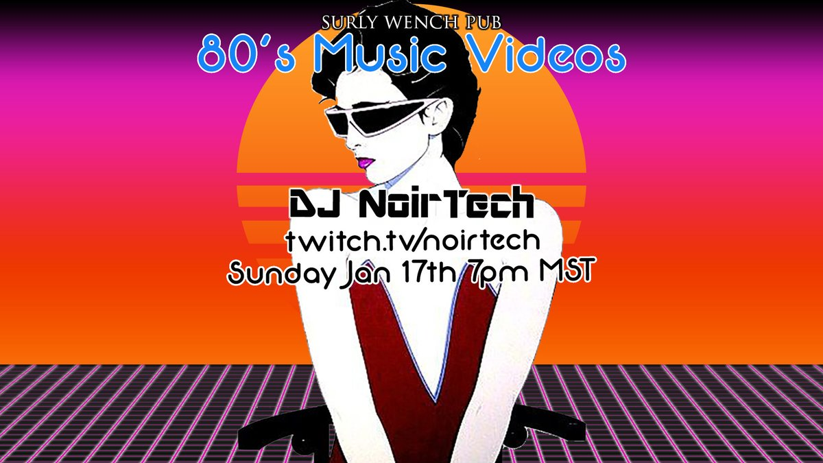 Streaming 80's Music Videos now! Join us!  #80s #musicvideos #VJ #DJ #retro #twitch #depechemode #80smusic #thecure #synthpop #newwave