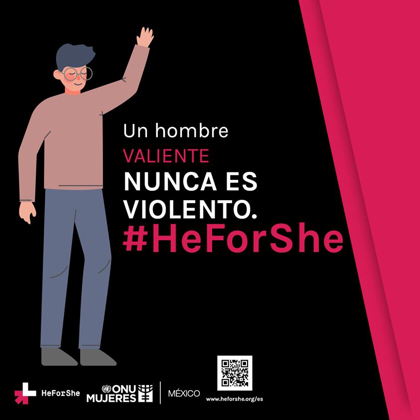 Rompe con estereotipos obsoletos, la igualdad es el camino para formar familias más plenas y felices. Únete a #HeForShe