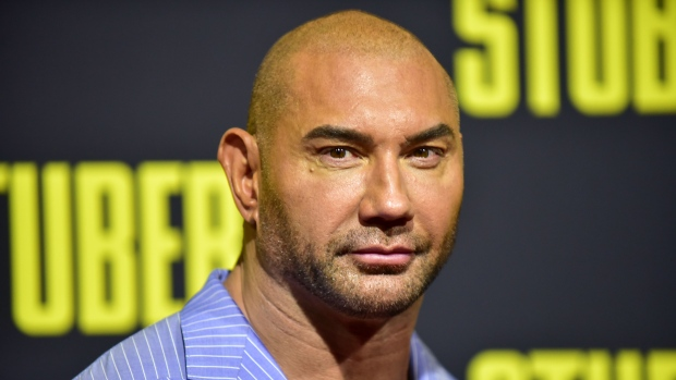 Actor Dave Bautista offers US$20,000 in case of manatee scraped with word 'Trump' https://t.co/UL0hieGoxy https://t.co/XYxu6m2fAr