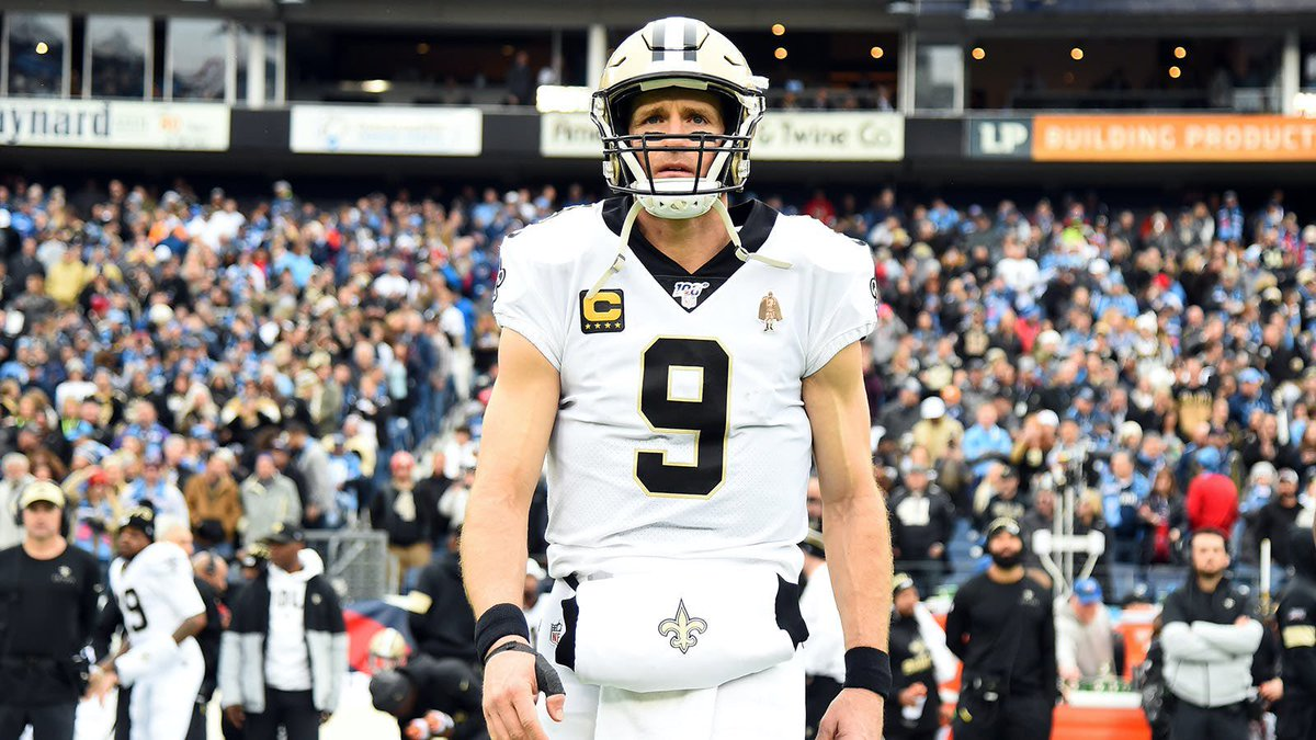 The best of ALL time. #9 will forever be a Saint to the city of New Orleans. Thank you @drewbrees #WhoDat