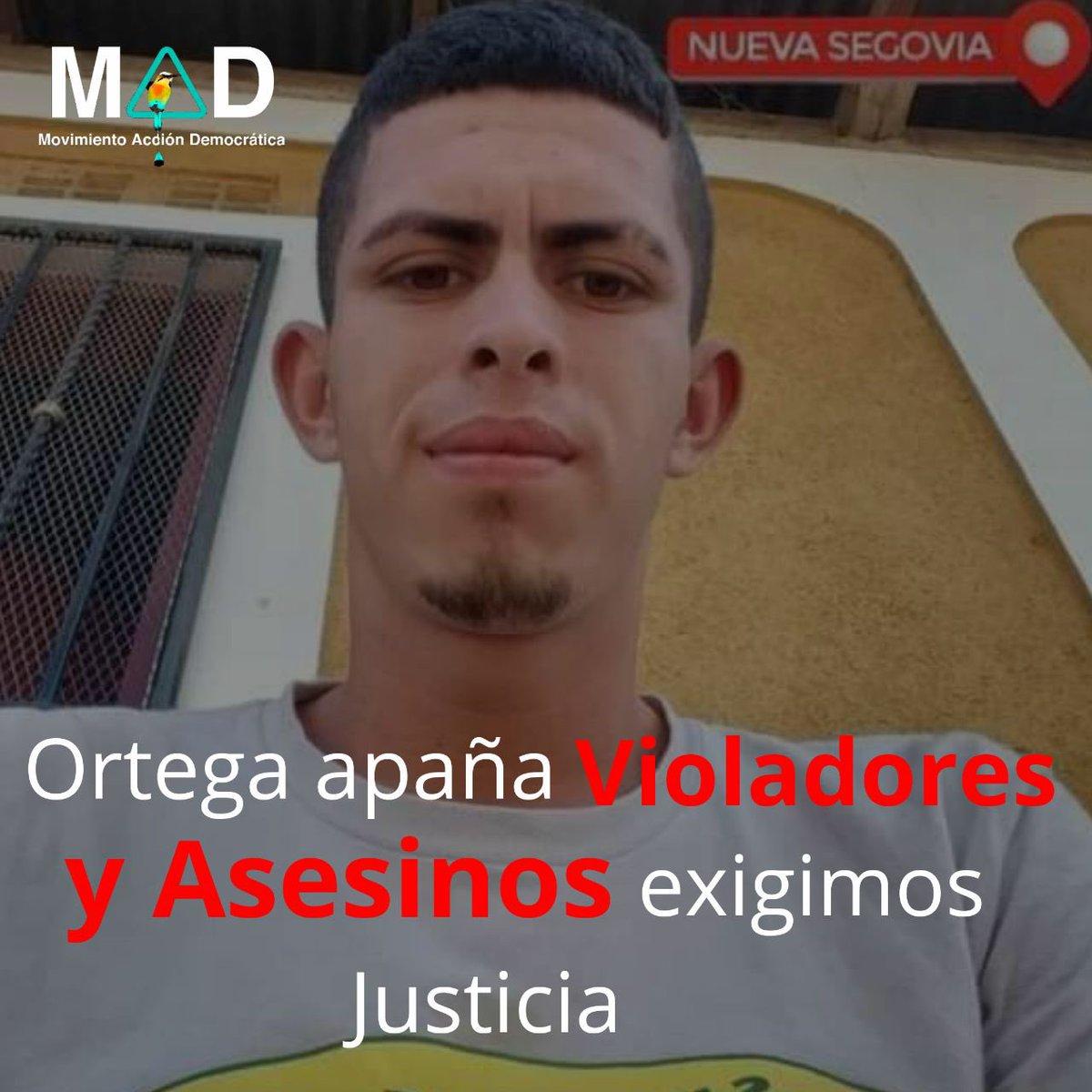 Mientras el régimen de Ortega continúen indultando a delincuentes y violadores, La Paz y la tranquilidad de nuestra sociedad está en peligro.   Exigimos justicia contra los violadores y asesinos; así como contra Ortega cómplice.   #NiUnaMenos #SomosMAD