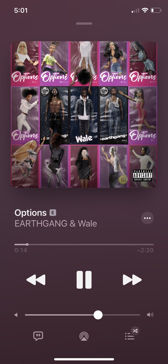 Shoutout to @EarthGang for this song you guys helped make Dreamville special🔥
