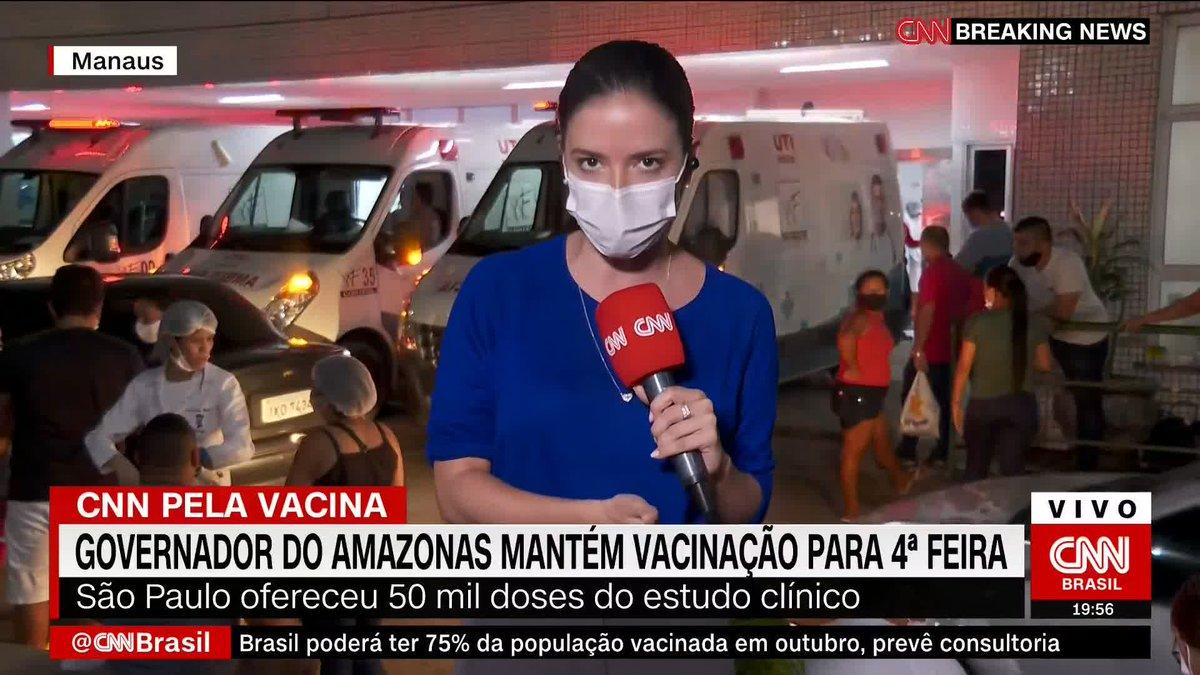 Governador do Amazonas mantém vacinação para a próxima quarta-feira (20)