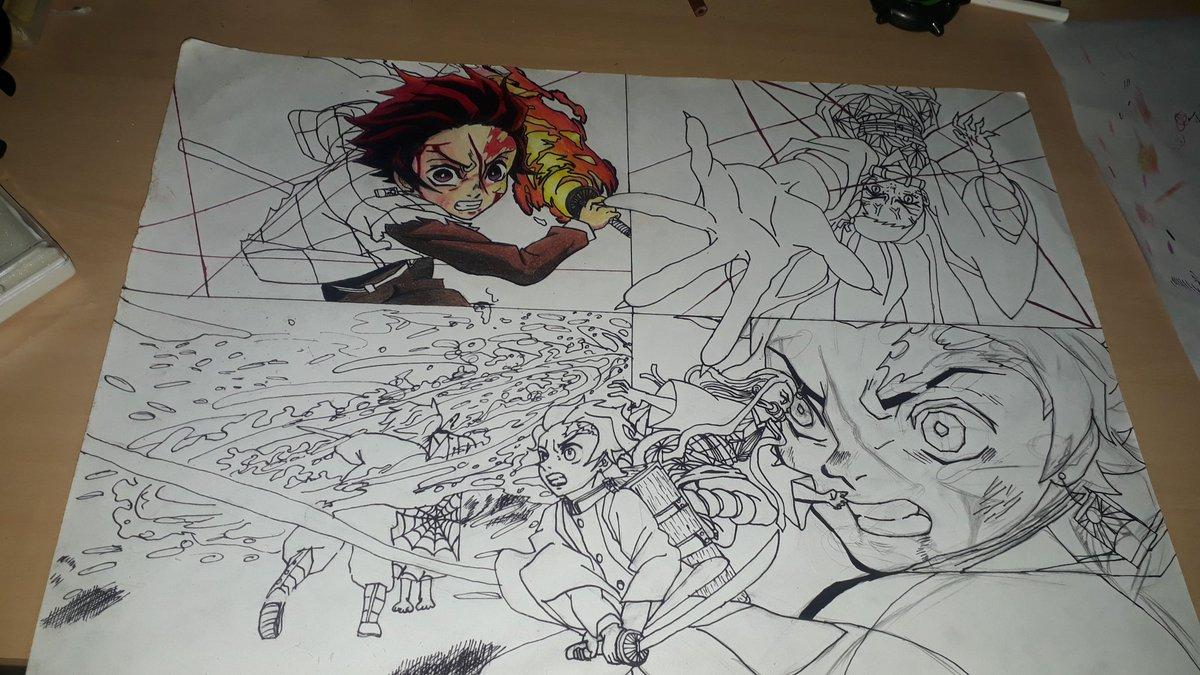 A:o tá ae #kimetsunoyaiba #kimetsunoyaibafanart #desenho #Desenhos #iFunny #br