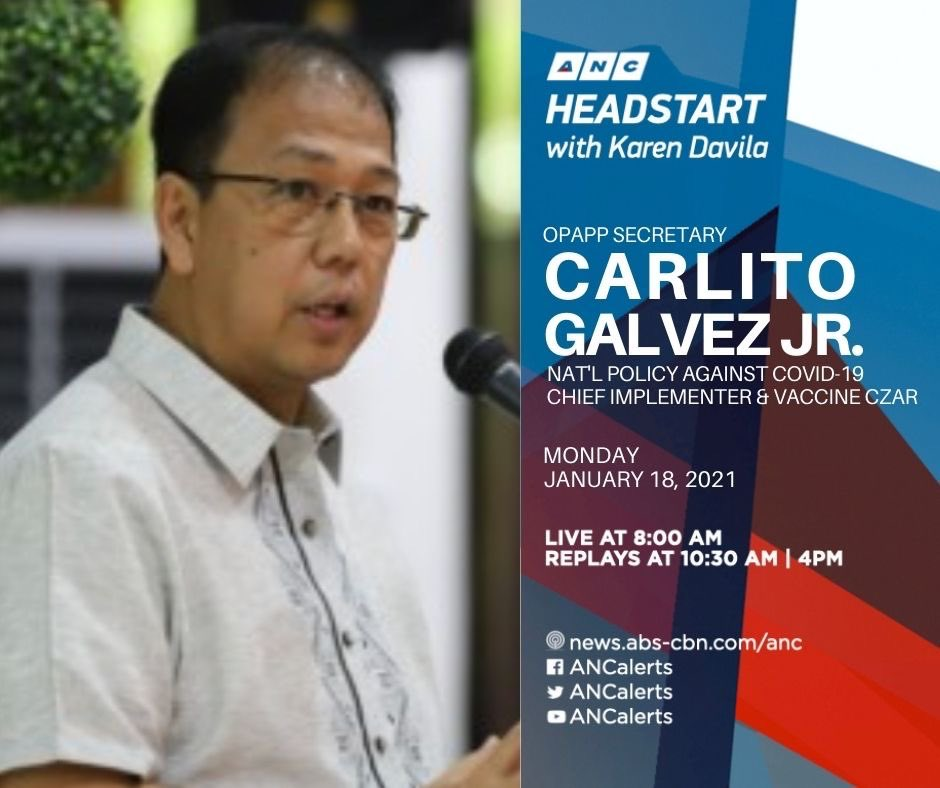Vaccine Czar Carlito Galvez and Testing Czar Vince Dizon set the record straight on the varying prices of vaccines, arrival & rollout.  An international newspaper reports Sinovac at $5 in US, $17 in Indonesia & $36 in PH. Is this accurate?  #ANCHesdstart 8-9am today @ANCALERTS