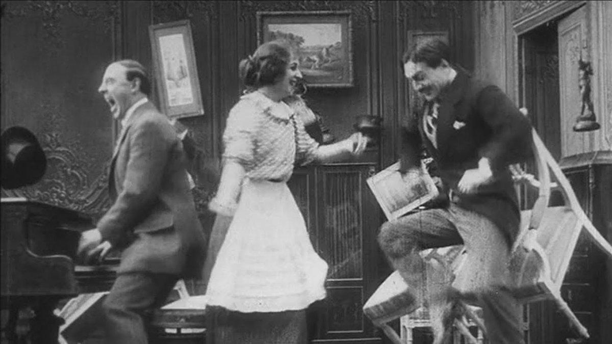 "#comedy #CharlieChaplin #comedyvideo #stooges #MaxLinder #laurelandhardy #comedian #funny #MEMES #jokes #comedians #funnyvideos #humor #blackandwhite #LOL #laugh #comedyclub #comedyshow #fun #hilarious  ""Max Linder - Entente Cordiale (1912)""  Watch Now:"