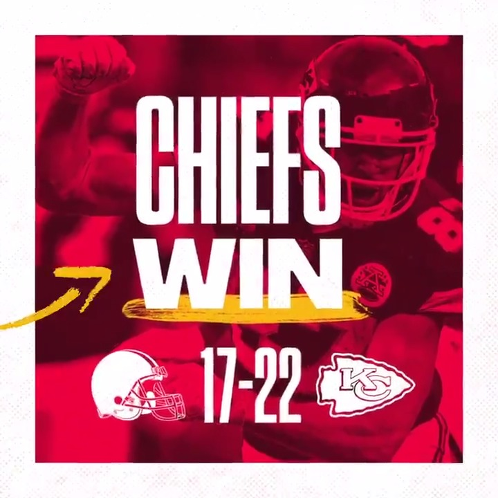 Replying to @Chiefs: WE GOT THE W!