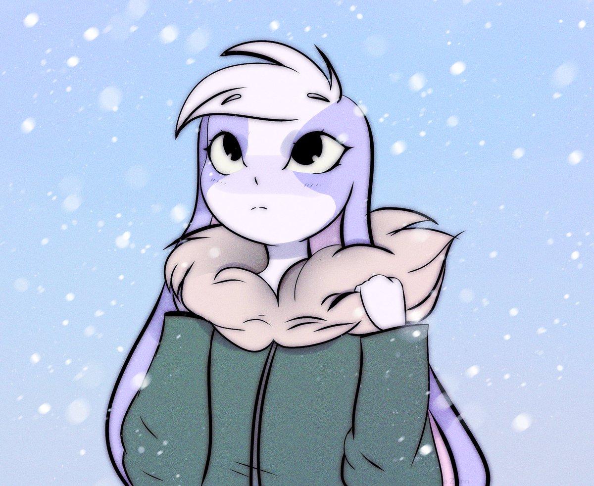 Replying to @clair_217: Snow bun ❄ @AshNicholsArt #HuniCast #hunibun