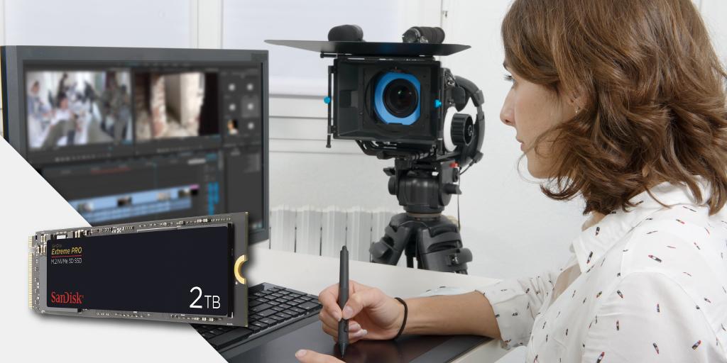 最大2TBのサンディスク エクストリーム プロ M.2 NVMe™ 3D ソリッド ステート ドライブは、負荷の高い作業に向いた高性能ドライブです。最大3,400MB/秒の読取り速度を発揮し、作業の待機時間を短縮。高解像度動画の編集などに最適です。  https://t.co/bvTxcjbQG8 https://t.co/yESXZX4w86