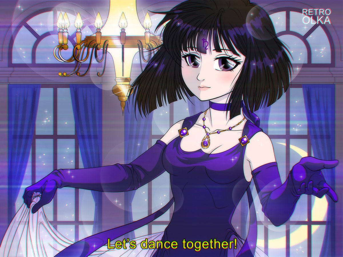 Sailor Saturn portrait I've made for a client on DeviantArt. Thanks a lot for commissioning me!  #90sasthetic #anime #SailorMoon #fanart #ArtCommission #90sLove