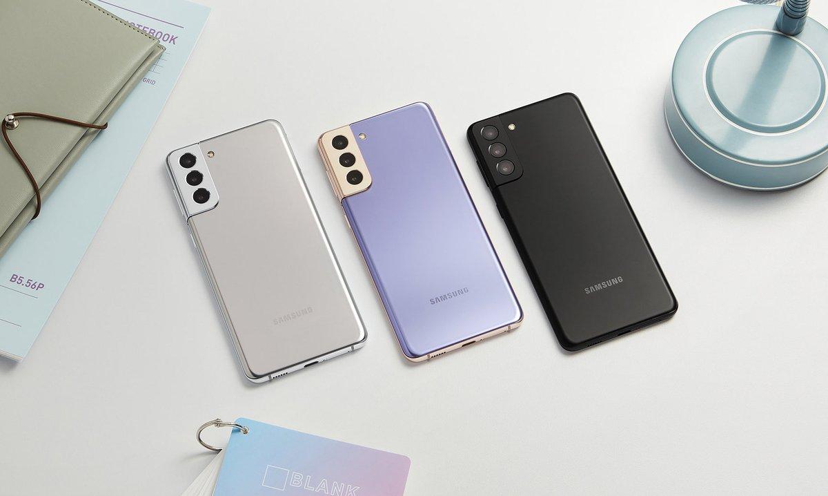 Galaxy S20は10万越えのやべー端末だったけど、今年のS21は8万3000円と控えめ。  注目はIoTデバイスも操作できる高機能な忘れ物防止タグ「Galaxy SmartTag」。やっぱGalaxyですわ☺️☺️☺️  #Galaxy #Unpacked2021