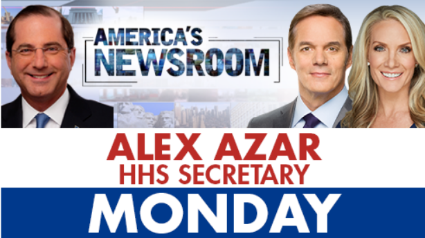'America's Newsroom' re-launches tomorrow morning starting at 9am ET