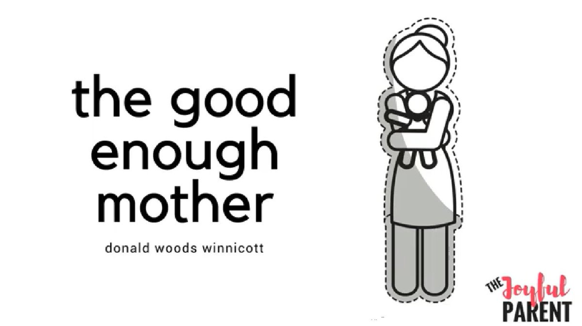 """You are a """"good enough mother"""". Yes, you are!  #mother #parenting"""