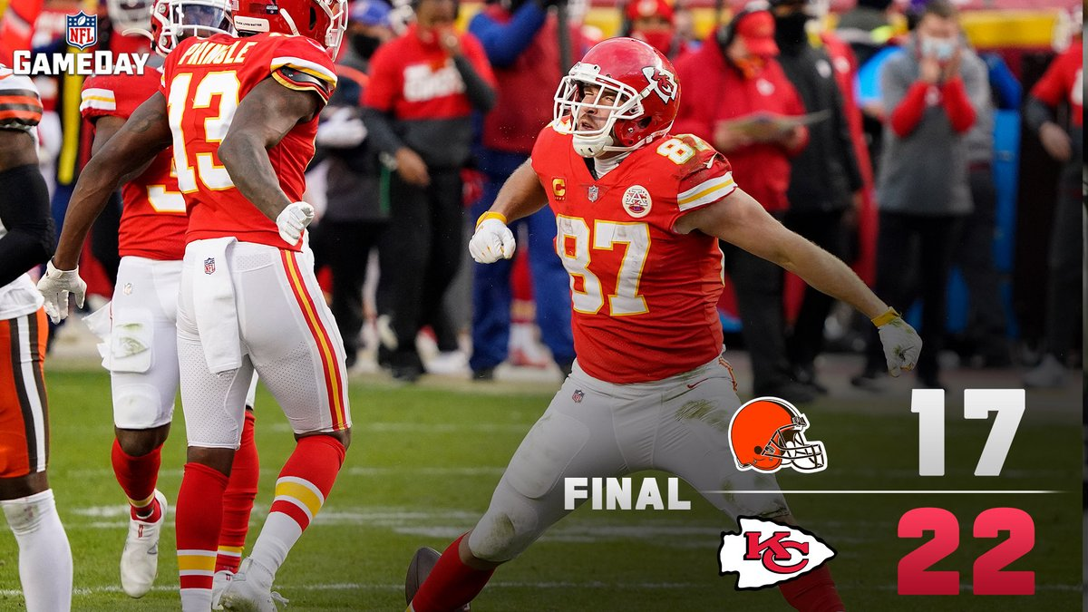 What. A. Game. 🤯  #CLEvsKC | #CHIEFSKINGDOM
