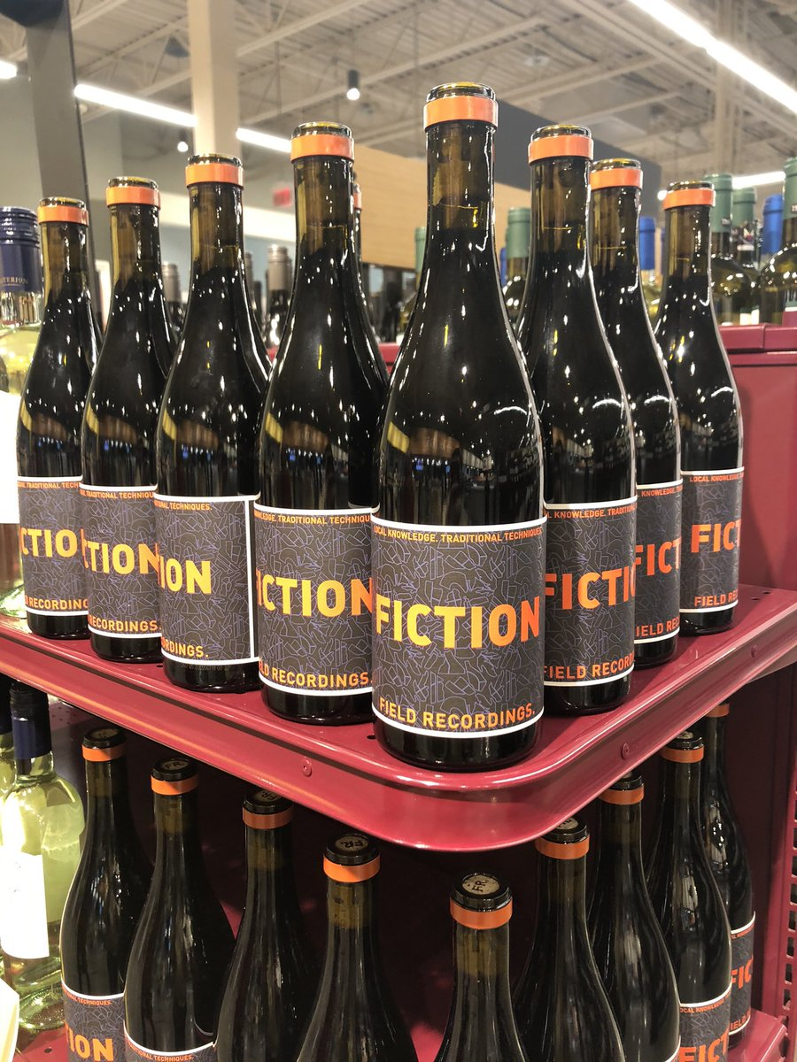 In the age of #fakenews and #alternativefacts, everyone's choice of wine must be 'Fiction' 👇🍷 specially @foxnews