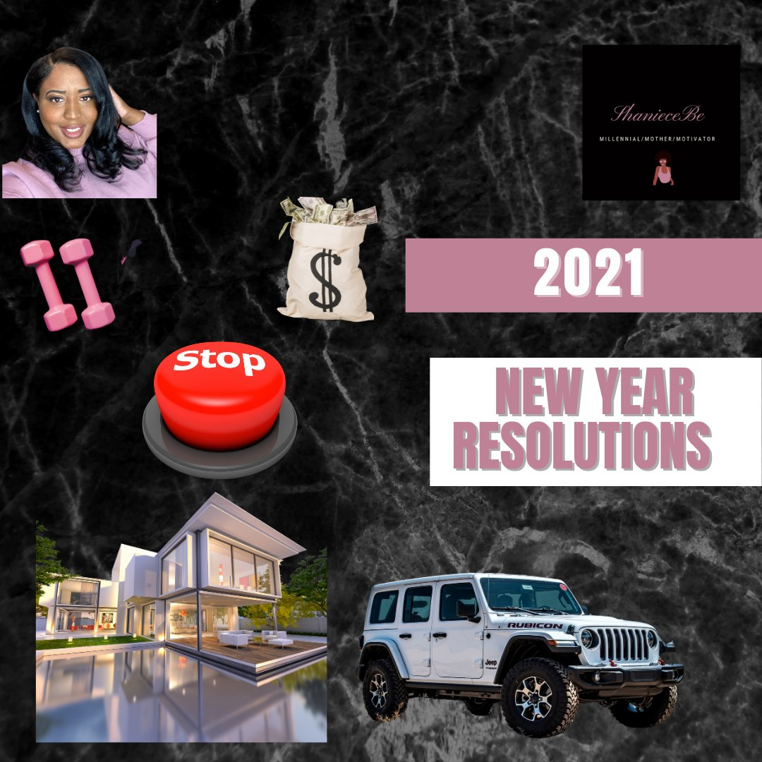 New Video📹  Have you set your New Year Resolutions?   I do not intend on adding many materialistic items to my goals for the new year. Many of my goals will surround my mental and physical health. #newvideo #youtube #millennial #mother #motivator #inspirationalquotes