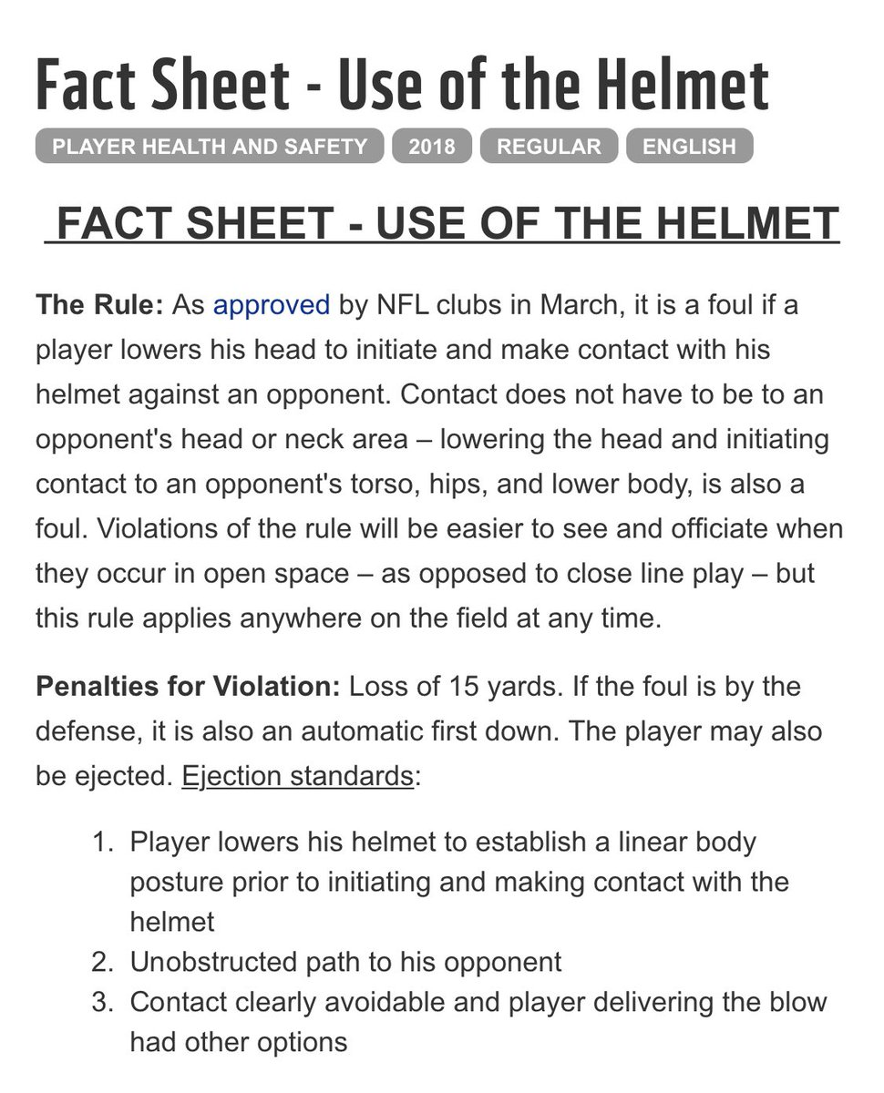 Hey @NFL @NFLOfficiating @nflcommish if you want to put a visual aid in your rule books, I've got the perfect one for ya. #UseOfTheHelmet #CLEvsKC #ClevelandBrowns #RobbedAgain