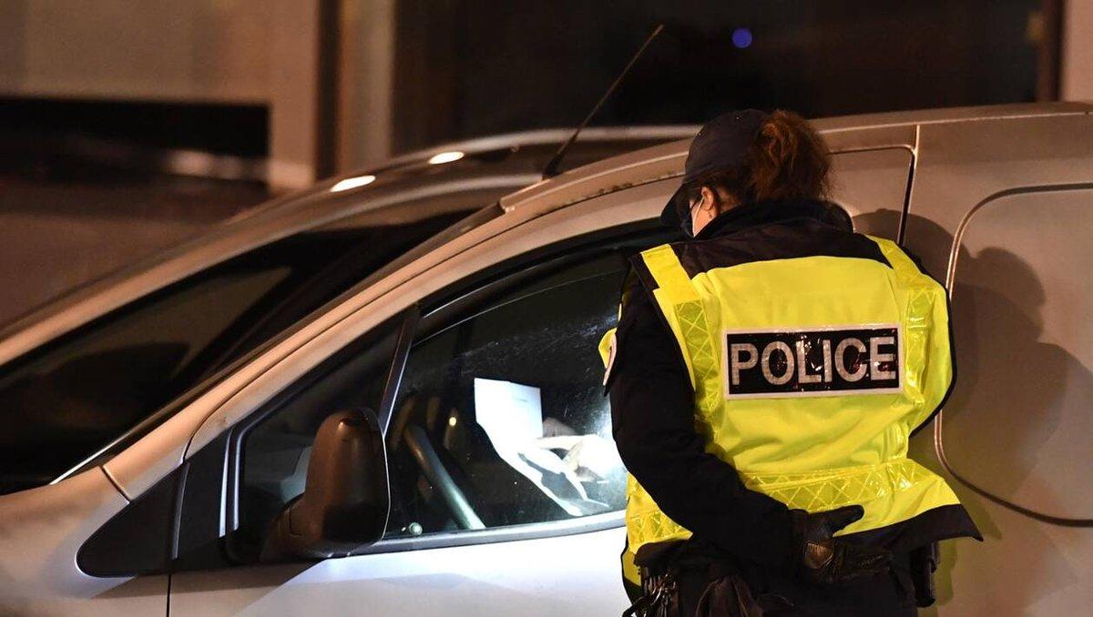 DERNIERE MINUTE |  Couvre-feu à 18 h. Près de 6 000 verbalisations dressées en France samedi soir  #Couvrefeu #Coronavirus | WNEWS