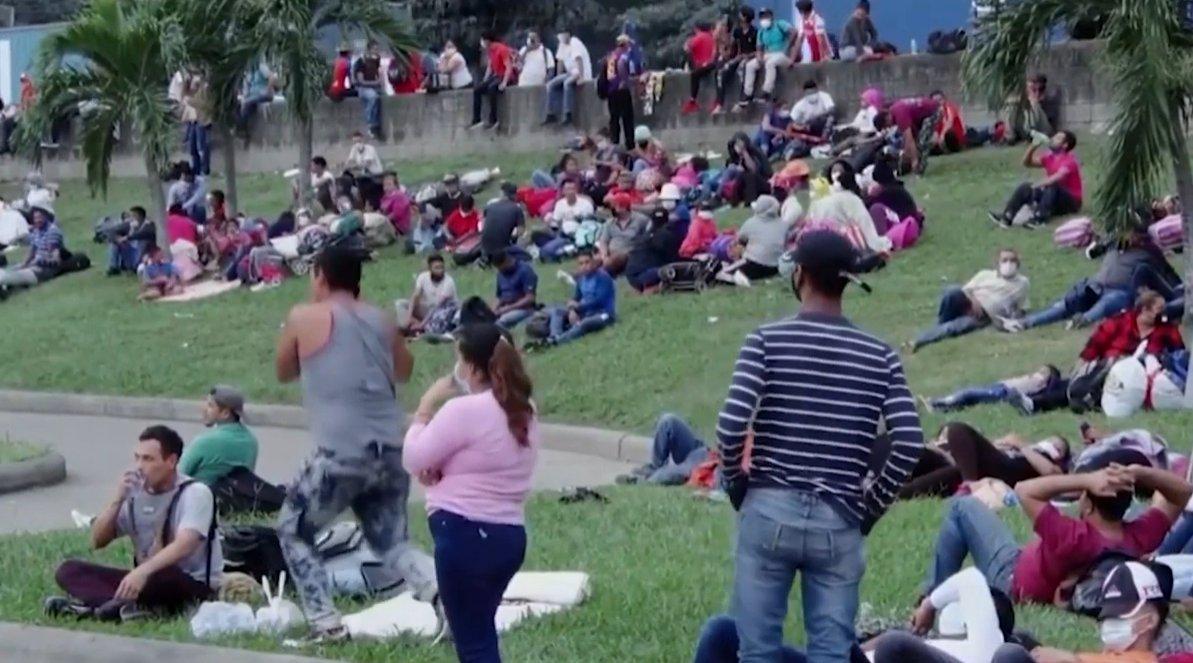 @UniNoticias #CANoticias #Coronavirus  Salud informa que 21 integrantes de la caravana de migrantes han dado positivo a Covid-19.   Los detalles⬇