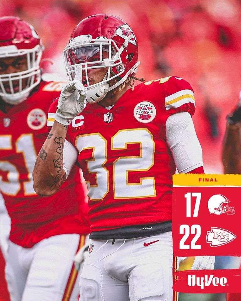 After losing Mahomes, Chiefs and Henne hold off Browns 22-17. #HenneThingIsPossible