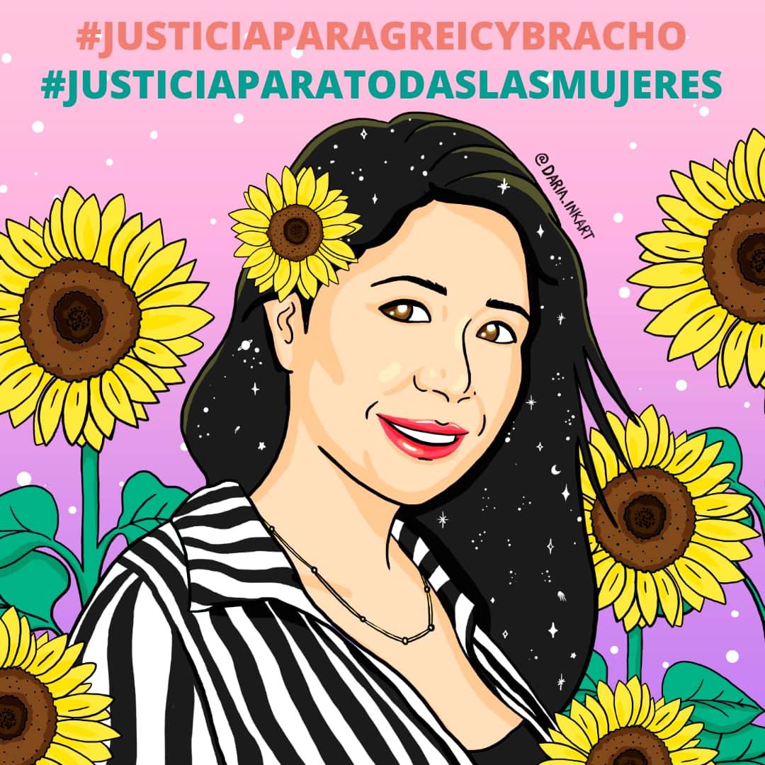 A un año del femicidio de Greicy Bracho nos unimos a la petición de sus familiares quienes exigen #JusticiaParaGreicyBracho   #JusticiaParaTodasLasMujeres #NiUnaMenos