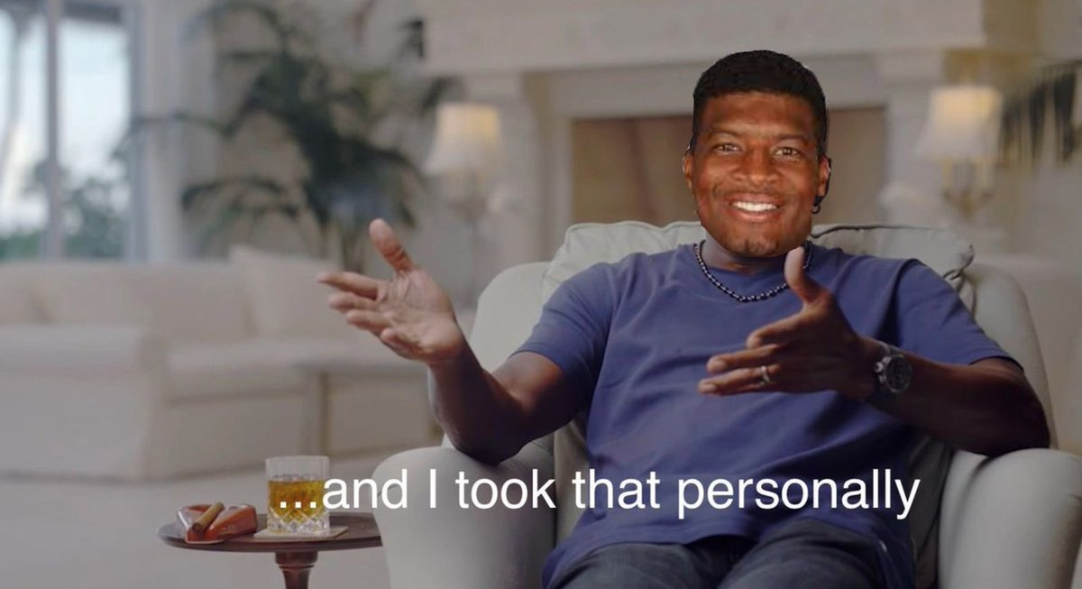 Replying to @Fireyyyyyy: Jameis Winston when the Bucs cut him: