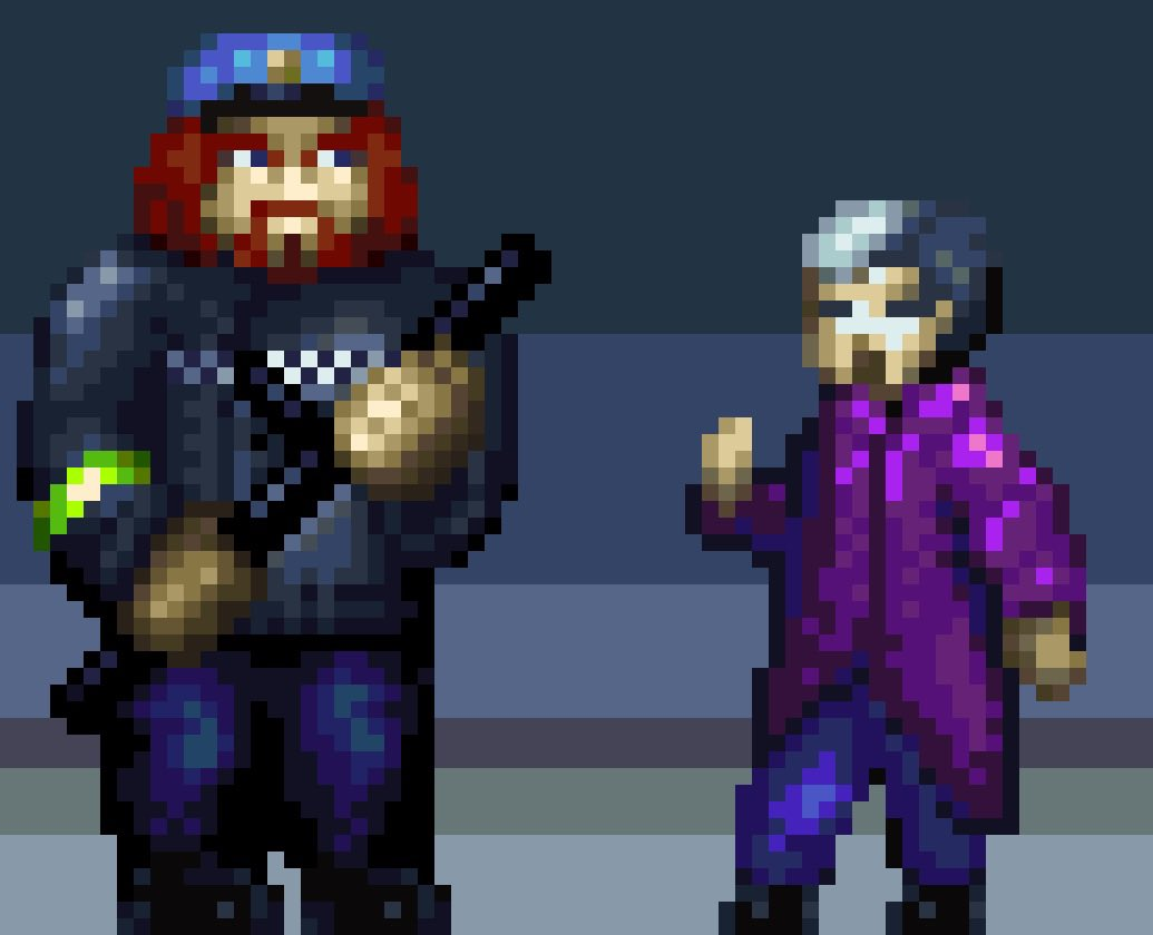 test Twitter Media - Oh crap! It's the fuzz!  #ocs #amiga #gamedev #scorpionengine #pixaki https://t.co/7riaif6dH8