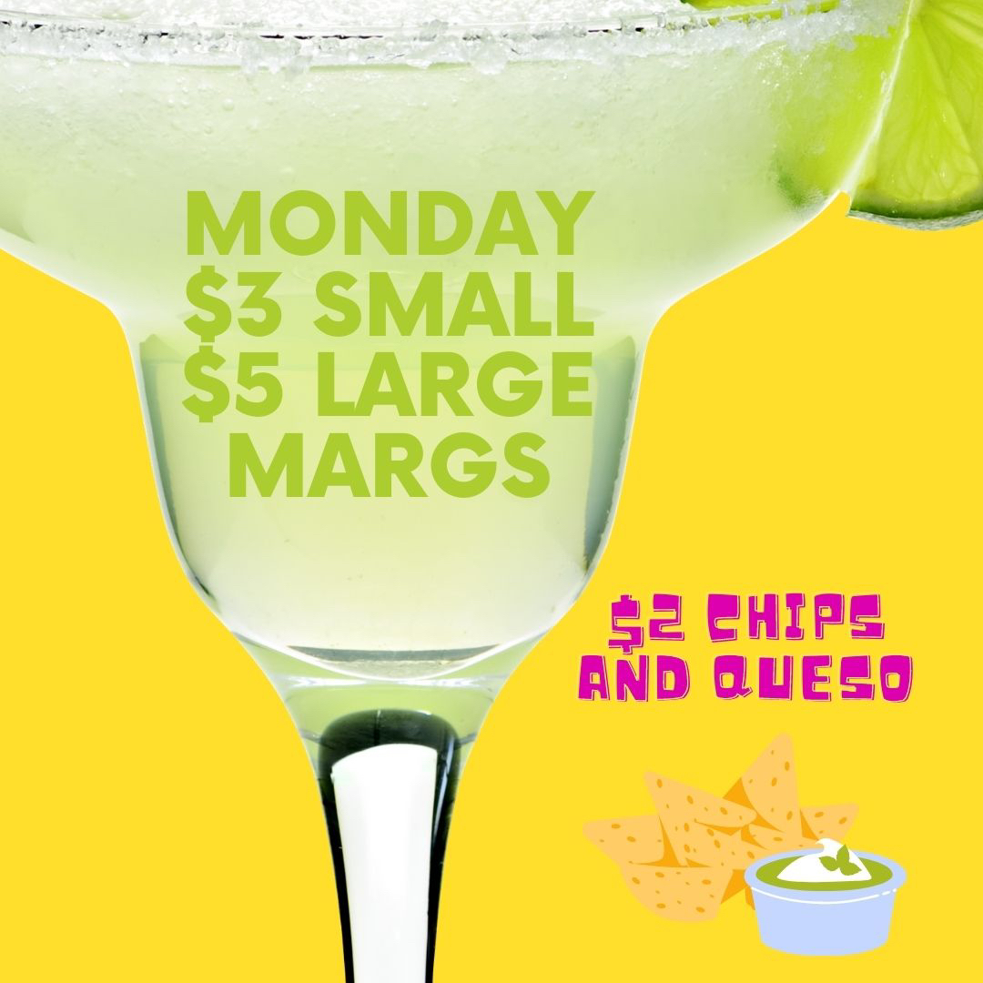 Make Monday your favorite day with our margarita specials!   #eatlocal #louisville #patio #explorepage #mylouisville #everythinglouisville #foodie #ky #louisvilleeats #louisvillefood #sharelouisville #gocards #uofl #louisvillekentucky #sundayfunday #nfl #sundayfootball