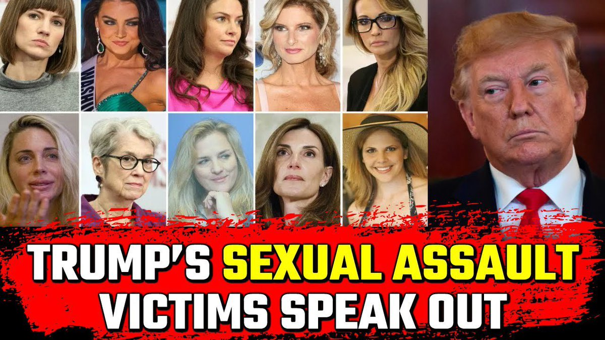 #DontTrustPeopleWho have a shitload of sexual assault cases against them.