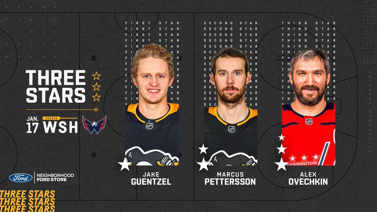 ⭐Estrellas⭐ del partido entre @Capitals_VAVEL y @penguins  #NHLesp #Pens #LetsGoPens #WSHvsPIT #Caps #NHL