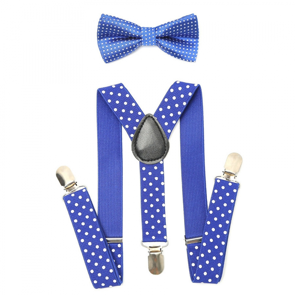 #instagood #beautiful Boy's Elastic Adjustable Suspenders With Bow Tie