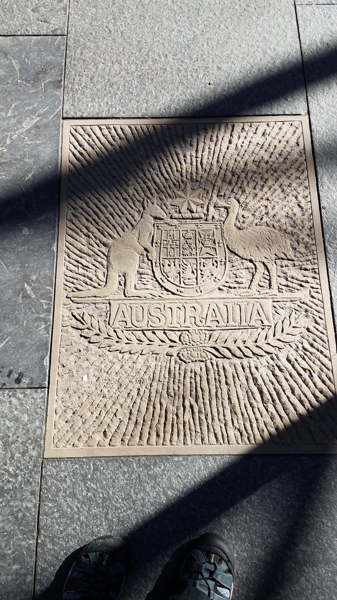 Good morning, #Australia. Very few New York City walking tours stop by this sidewalk plaque, but the Isle Of New York British Tour does. And that's why you should sign up before your #NewYorkCity #holiday. #Ozzie #Tourism #tourist #travel #NYC #NewYork tourguidestan@yahoo.com