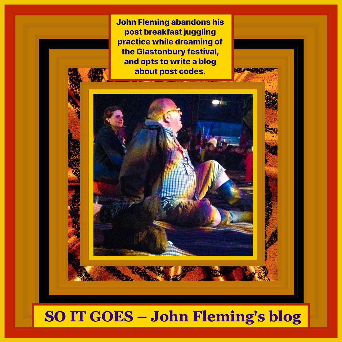 John Fleming abandons his post breakfast juggling practice, and opts to write about #postcodes  #thejohnfleming #blog  #archway #wimbledon #walthamstow #theangel #woodgreen #stokenewington #bethnalgreen #kentishtown #hoxton #eastfinchley #clerkenwell #nyc