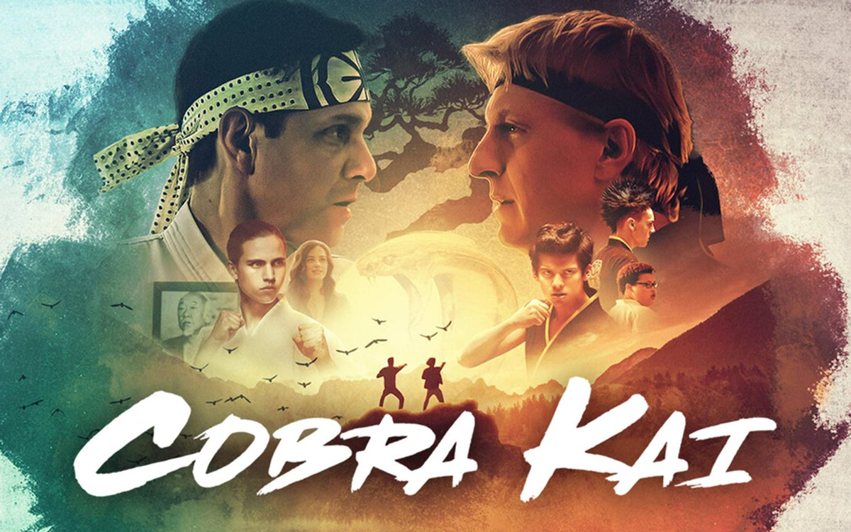 Just finished all three @cobrakaiseries on @netflixuk My first binge watch of 2021. Absolutely incredible series! I even went back and revisited all the Karate Kid movies too. Don't know about you but my year has been awesome so far!!! #cobrakai #myagidokarate