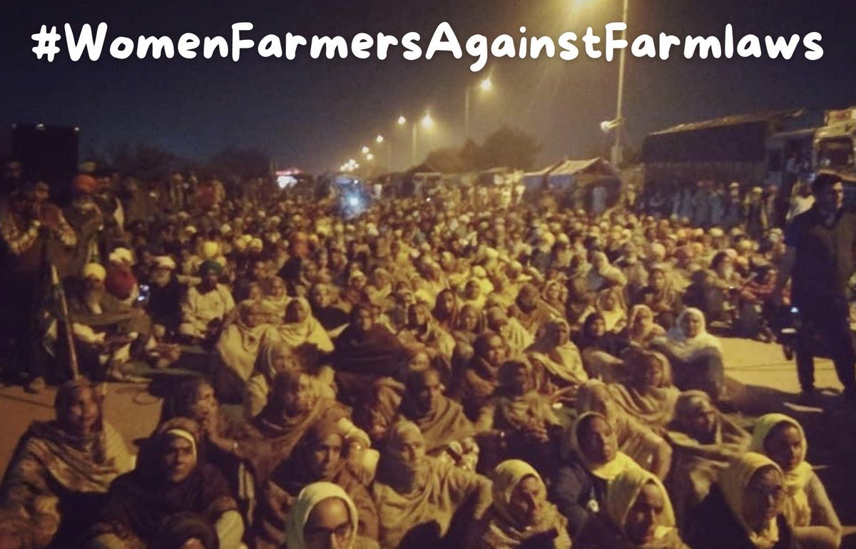 #WomenFarmersAgainstFarmlaws hashtag for today   Lets use it, share it & viral it, so that our farmers' voices reach the government and actions are taken further.