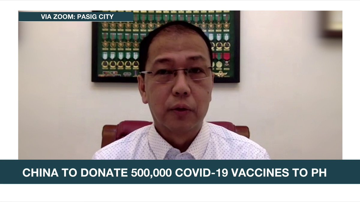 Vaccine czar Carlito Galvez Jr. insists that the #COVID19 vaccine from Sinovac is more affordable than some of its competitors, saying the commercial price of the China-made vaccine is $26 and the Philippines is getting it at a much lower price.