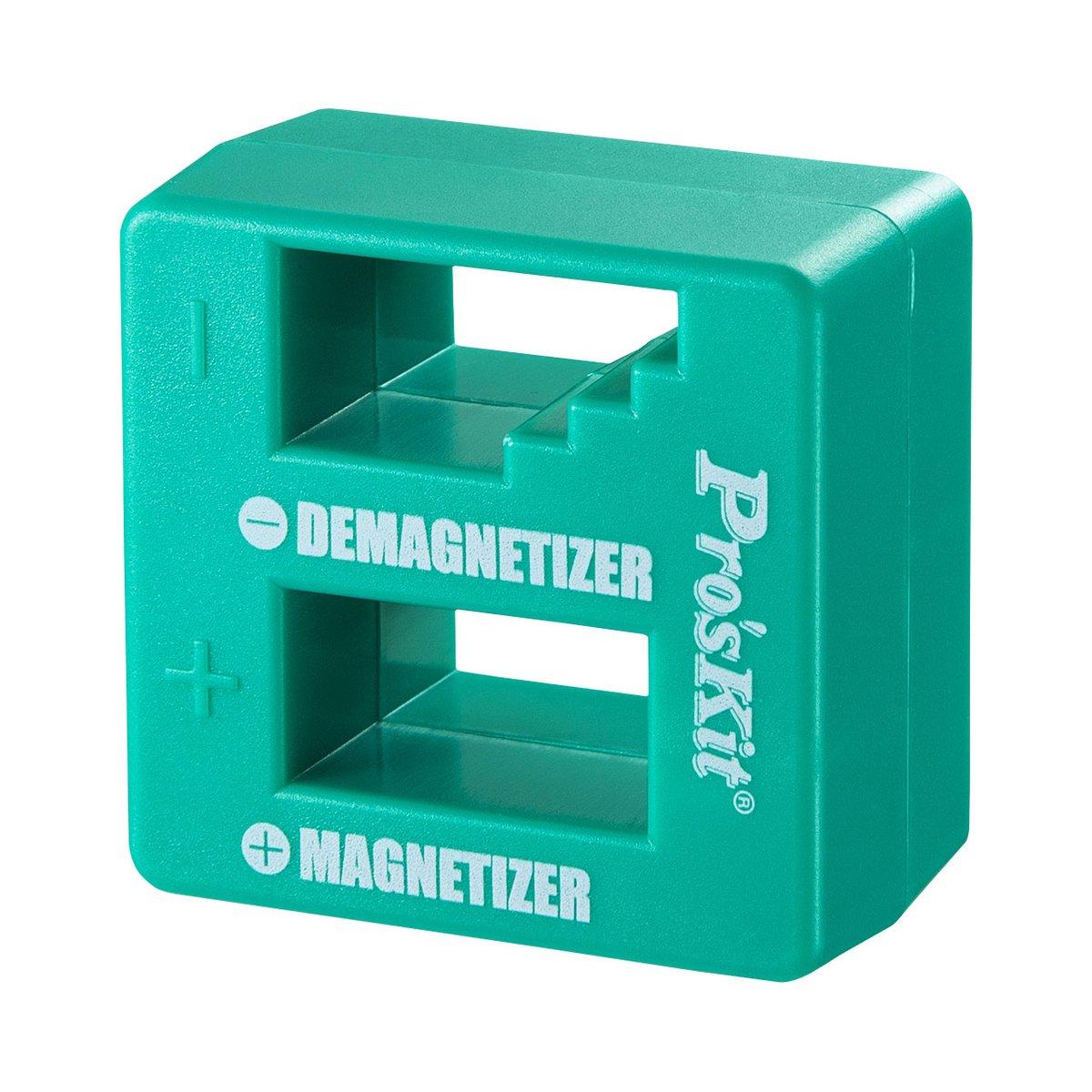手持ちの工具が簡単に磁極化でき、消磁もできるドライバー用マグネタイザーを発売