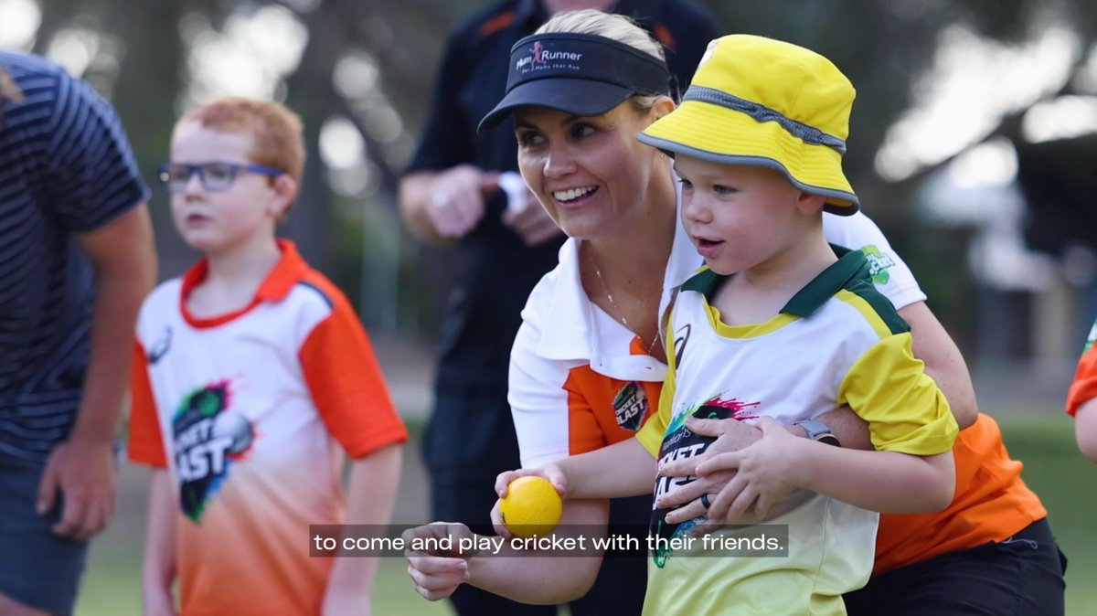 Led by passionate volunteers, this Woolworths Cricket Blast program is helping to provide an introduction to cricket for kids with special needs!    | @woolworths