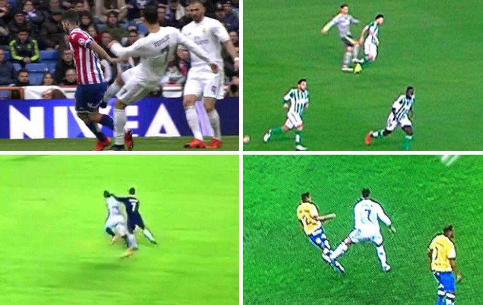 Esos mismos que ahora le darán bombo a la agresión de Messi (expulsión justa) callaron durante años con todas y cada una de las agresiones impunes de Cristiano en el Madrid... ahora el VAR no es tan malo, ¿verdad? HIPÓCRITAS. https://t.co/kuOpSYIWUh