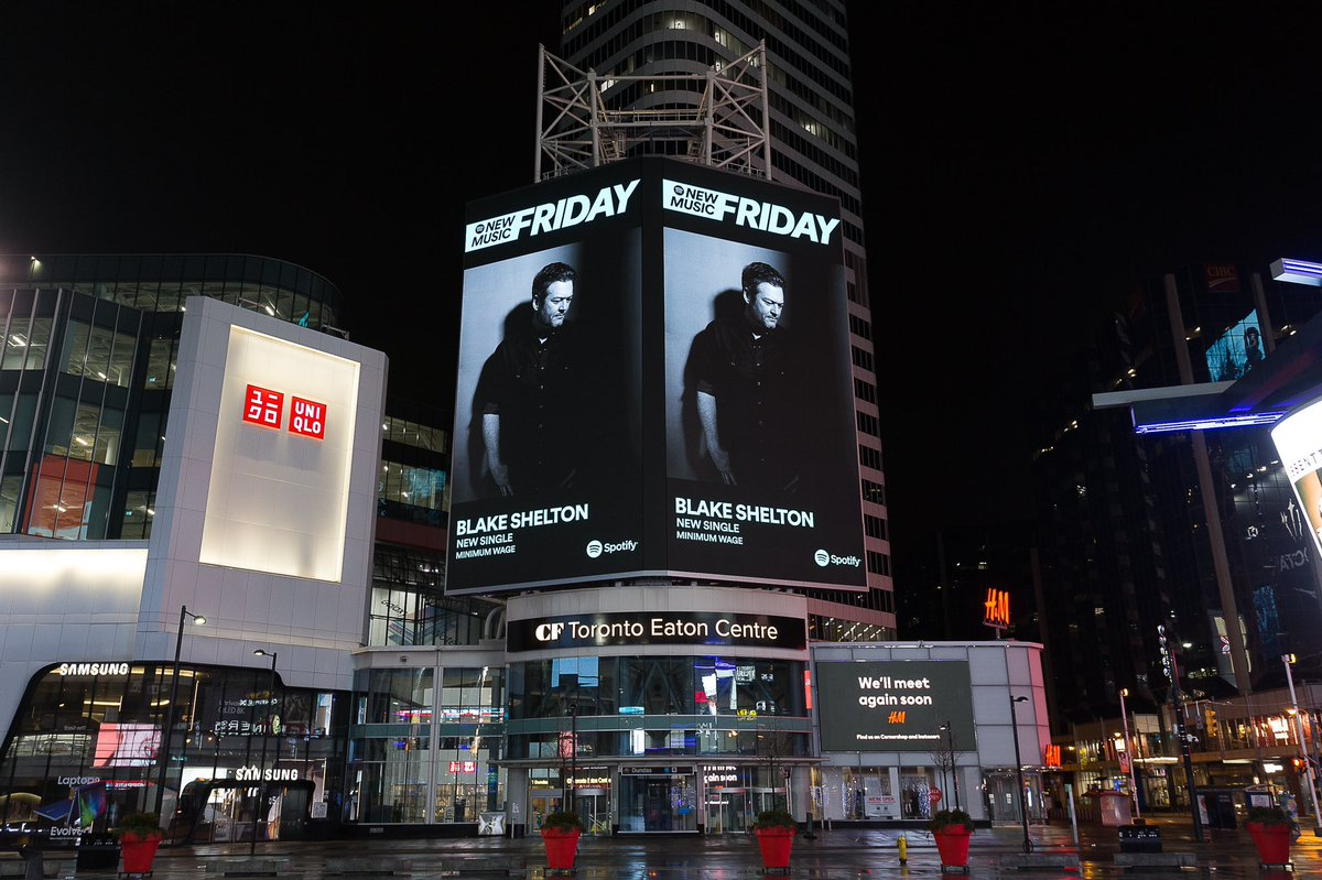 Toronto is looking good!!!! Thanks for this @Spotify!!!