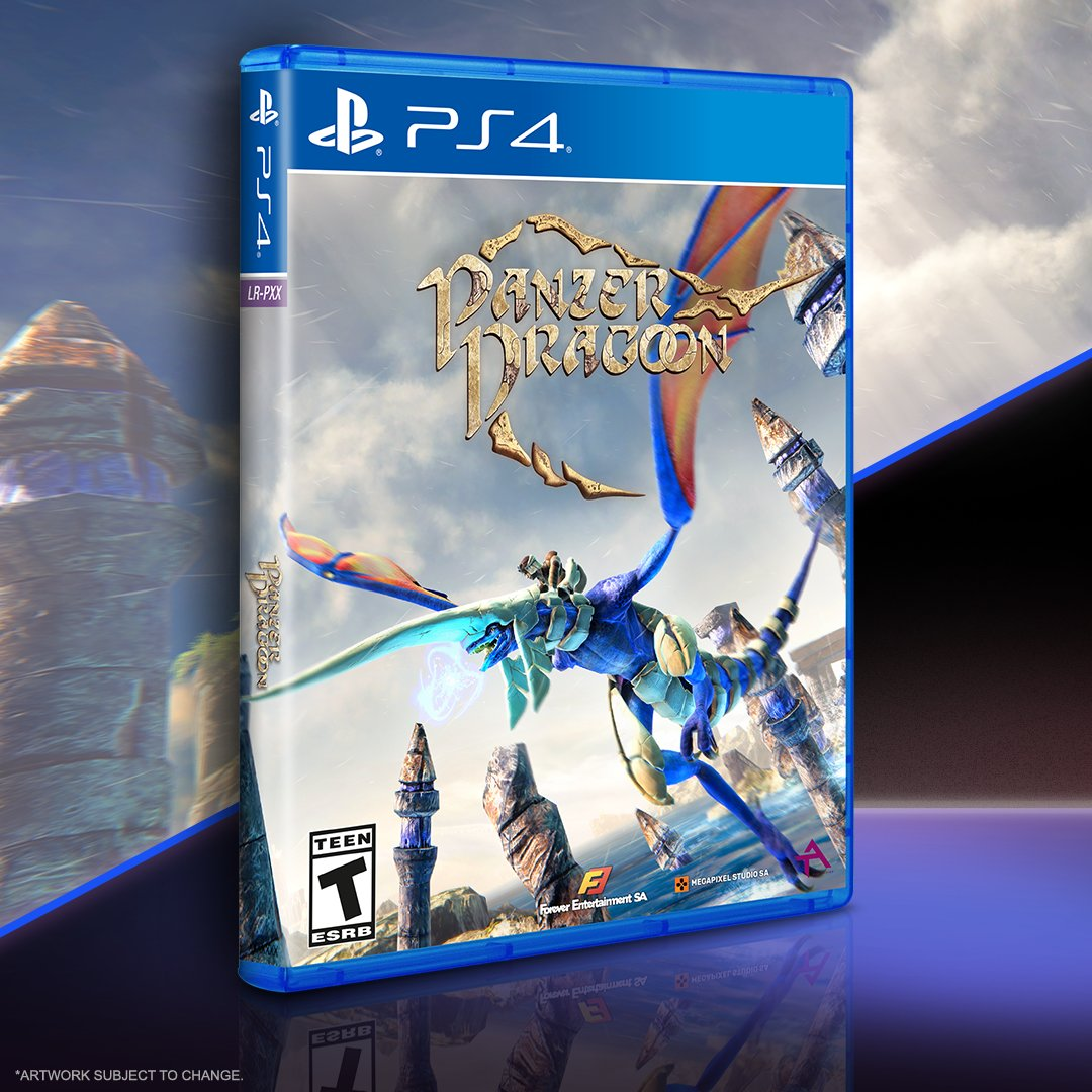 It's the final hours for Panzer Dragoon and Dark Crystal: Age of Resistance Tactics pre-orders on . Epic games in physical format await you!