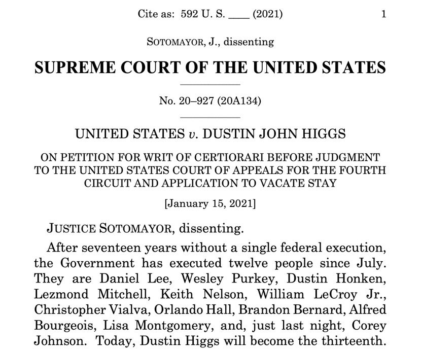 @helenprejean's photo on Justice Sotomayor