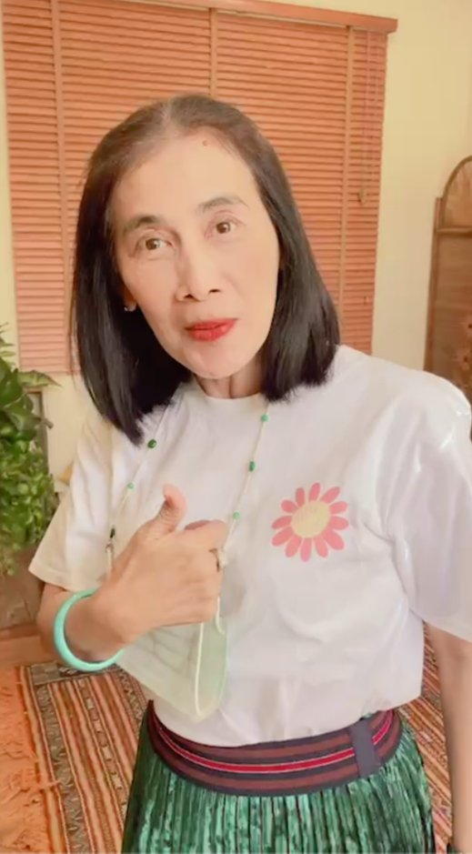 Replying to @babiegulf: mama jong and papa traipi to support the girlies today 🥺 #จอมเกรซXเคิร์ฟ