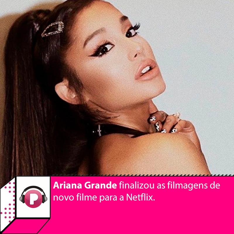 """No dia em que lançou o remix de seu single de sucesso """"34+35"""", Ariana Grande revelou terminou as filmagens para o novo filme da Netflix, """"Don't Look Up"""". Confira mais detalhes sobre a produção:"""