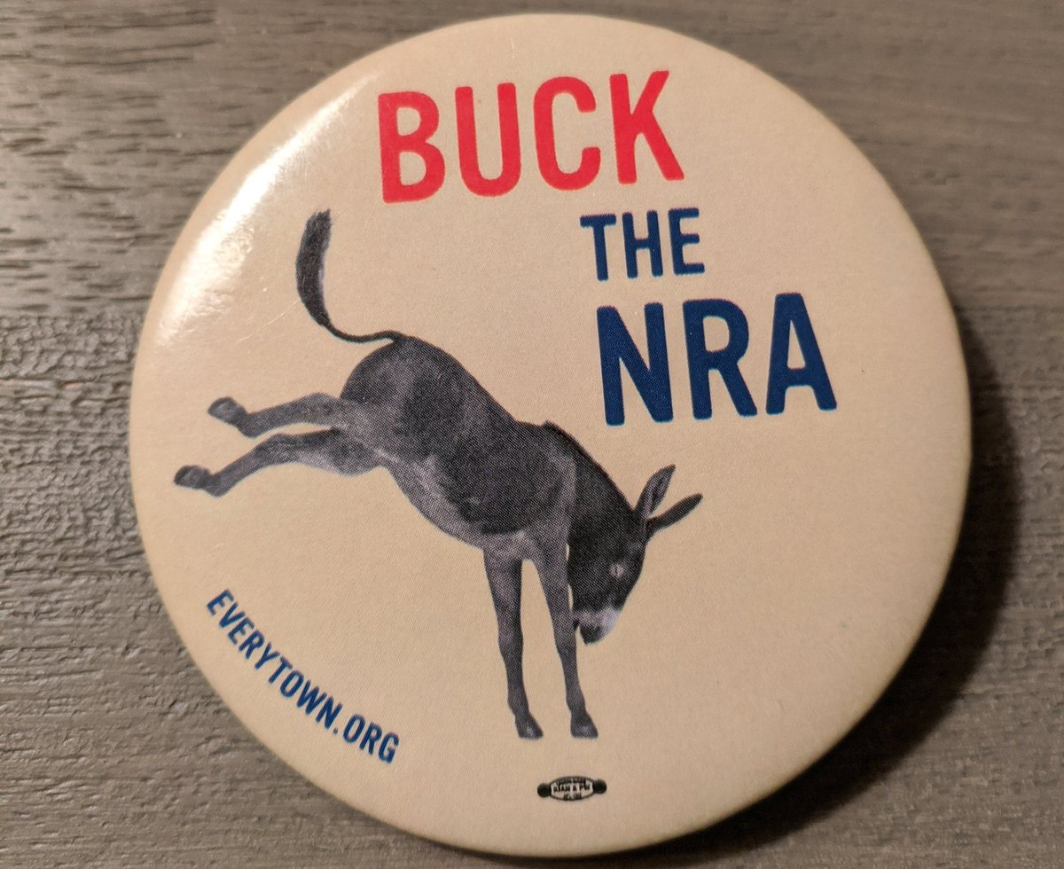 The NRA is weaker than it's ever been, and @MomsDemand and the gun violence prevention movement are stronger than it's ever been. We have the NRA on the ropes - after years and years of hard work - and we'll keep going until they're out of power.