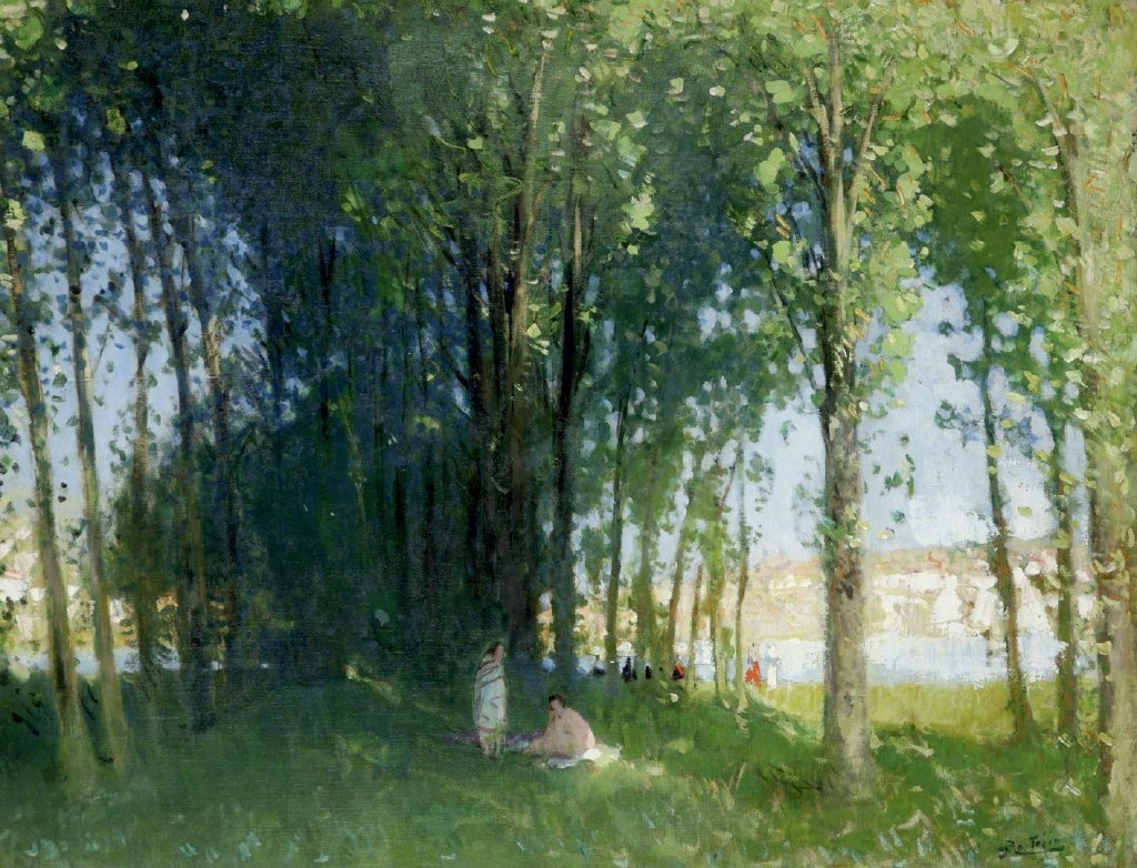 Pierre Montezin (16 October 1874 – July 1946)  was a French painter.  His work was part of the painting event in the art competition at the 1932 Summer Olympics. #Art #Artist #painting #acrylic #Oil #summer #nature