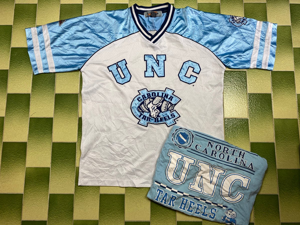 Excited to share the latest addition to my #etsy shop: Vintage UNC University of North Carolina Tar Heels Jersey FREE!!! Vintage UNC Tar Heels t-shirt Fits Size M  #blue #independenceday #white #walking #sportsuniform #uclabruinsjacket