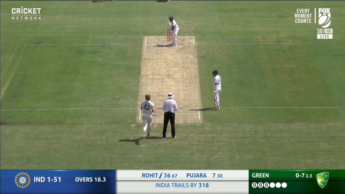 RT @cricketcomau: Blocked... for four!   Live #AUSvIND: https://t.co/qvYTMSiZsl https://t.co/YxmdjNVHLO