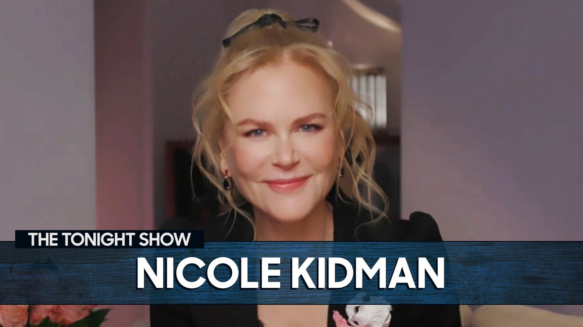 """How did Nicole Kidman prepare for slapping Meryl Streep in Big Little Lies?!  By """"slapping"""" her mother, of course! 😱  More with Nicole 👉"""